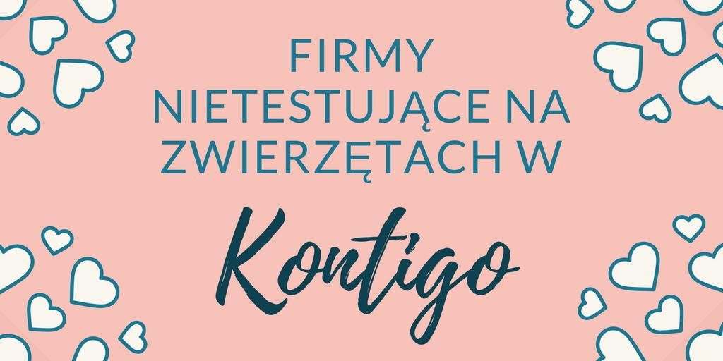KONTIGO - LISTA FIRM CRUELTY FREE