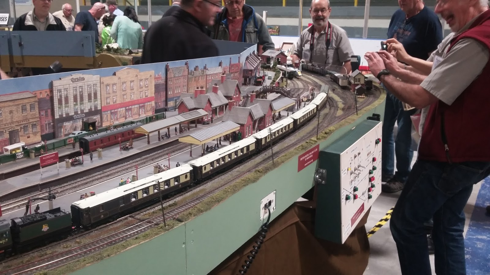 Photos From The Great British Train Show In Brampton Ontario On 7th And 8th Of May 2017 Showing Allingham Layout With Prototype Hst