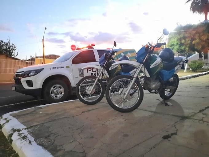 PM prende homem de 34 anos por tentativa de arrombamento a estabelecimento comercial em Elesbão Veloso.