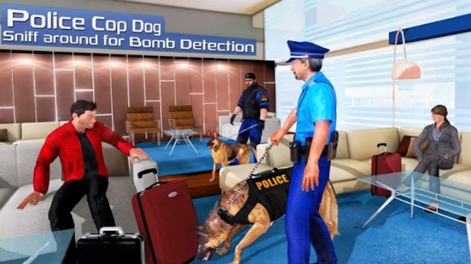 لعبة كلب البوليس - محاكاة كلاب الشرطة US Police Dog Simulator