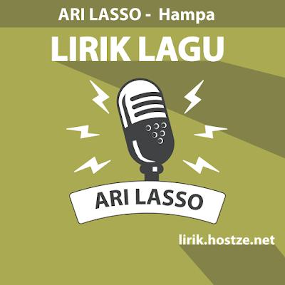 Lirik lagu Hampa - Ari Lasso - Lirik lagu indonesia
