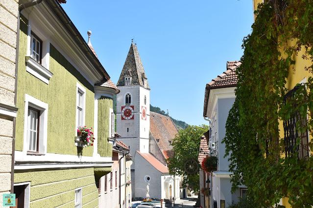 Spitz en el Valle del Danubio, Austria