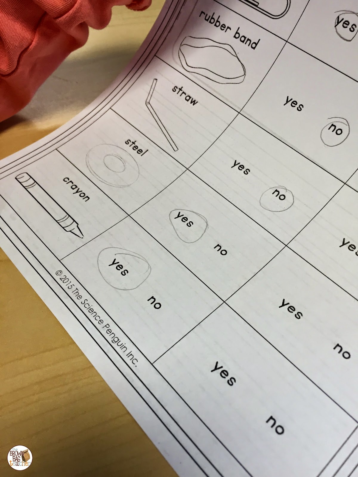 medium resolution of Magnets: 1st Grade Science - The Brown Bag Teacher