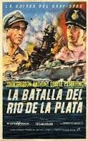 La batalla del Río de la Plata, película completa, en inglés