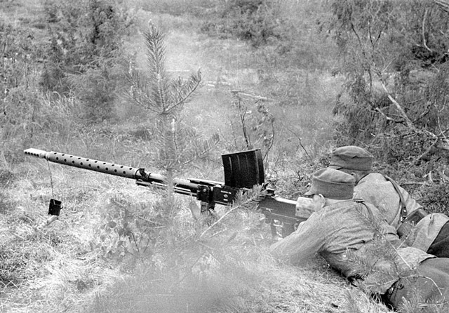 Finnish anti-tank gun being used, 3 June 1942 worldwartwo.filminspector.com