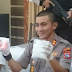 Polres Agam Ungkapkan Penangkapan Seorang Kurir Bawa Shabu 185,48 grm