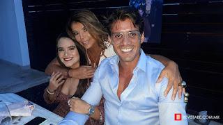 Odalis Gómez, Erika García y Michel Escalle.