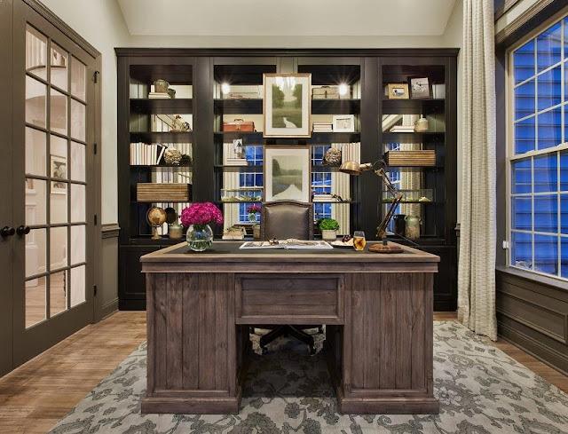 best modern rustic office furniture sets design decor ideas