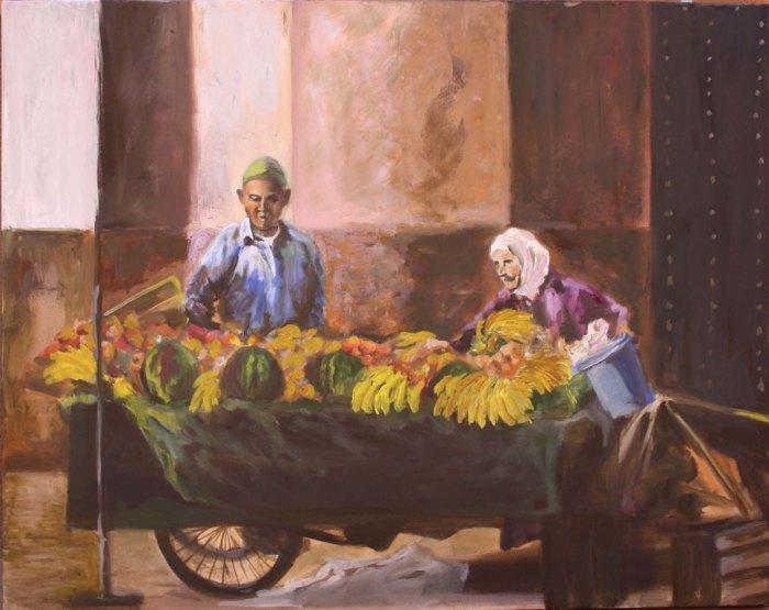 Неутомимая и беспокойная художница. Antonia Contra