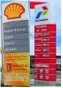 Shell Super  dan Pertamax Turun Harga