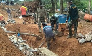 Satgas TNI Manunggal Membangun Desa (TMMD) ke-108 Kodim 0316 Batam