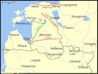 Invasions russes entre 1570 et 1577