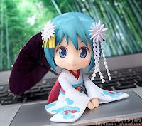 Nendoroid Sayaka Miki Maiko ver. de Puella Magi Madoka Magica  - Good Smile Company
