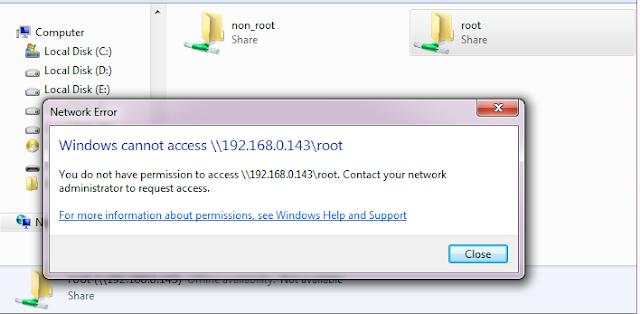 Windows Cannot Access \\ Shared Drive