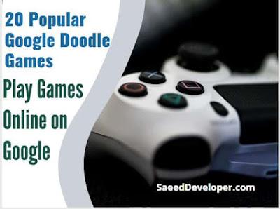 Popular google doodle games- games online on google