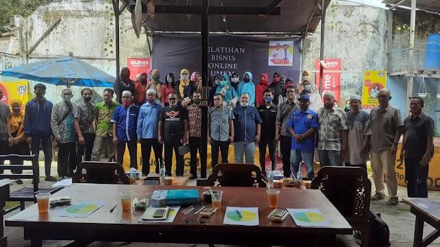 Satgas Anti Riba Kota Pematangsiantar Adakan Pelatihan Bisnis Online UMKM