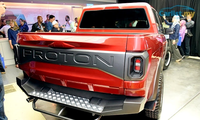Proton Pikap (Pickup Truck 4x4)