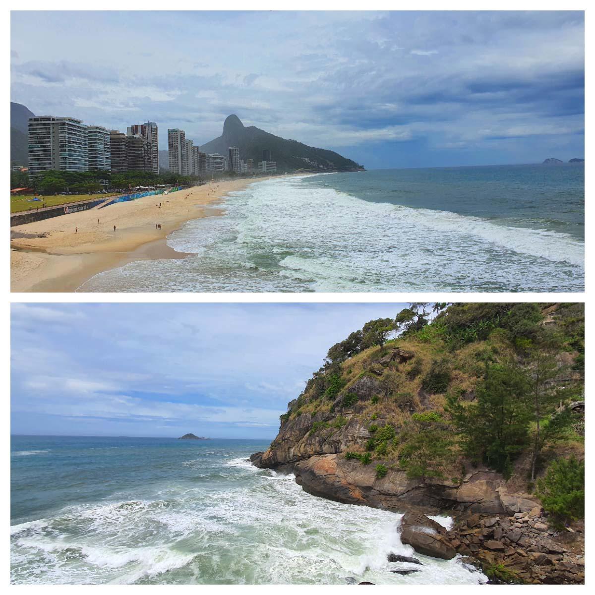 Mirante da Ciclovia em São Conrado no Rio de Janeiro