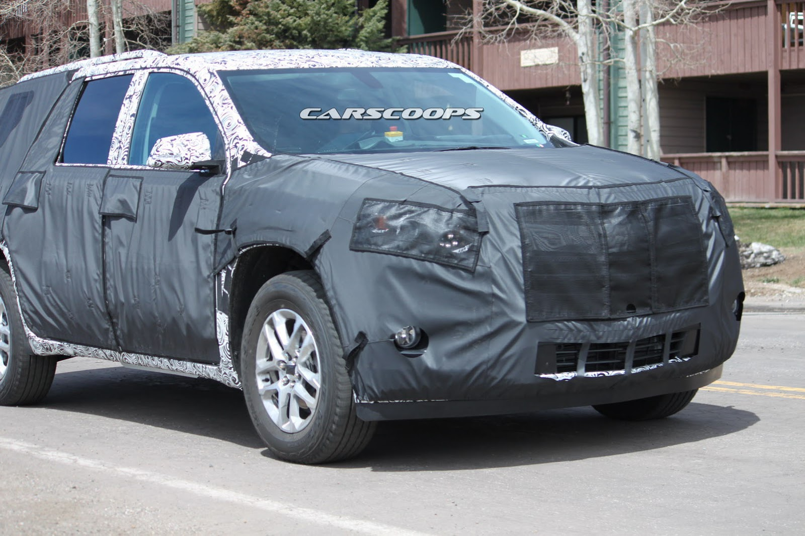 U Spy 2018 Chevrolet Traverse SUV, The GMC Acadia's Roomier Brother - carscoops.com