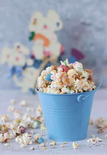 Easter Rocky Road Popcorn | Image courtesy of Barbara Bakes™