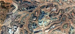 fotografía surrealista de España desde el aire