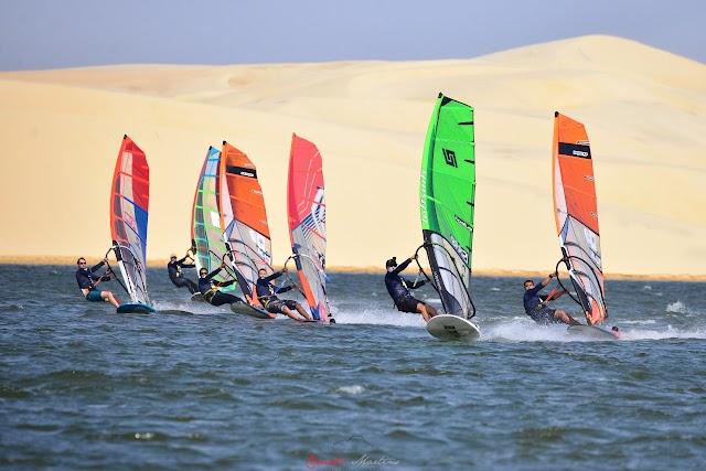 Prefeitura de Parnaíba promove o Campeonato Sul-americano de WindSurf na Lagoa do Portinho