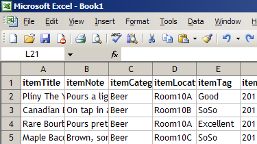 1  Import from CSV text file - Barcode eXpress