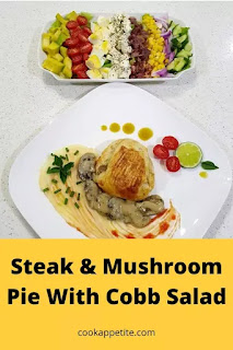 This homemade steak and mushroom pie is healthier and tastier. The greatness of homemade everything is that you get to decide what will be in your food and you also get to decide how you are going to make your food.