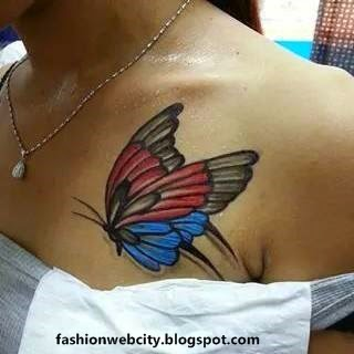 Lovely Tattoos for Girls Photos