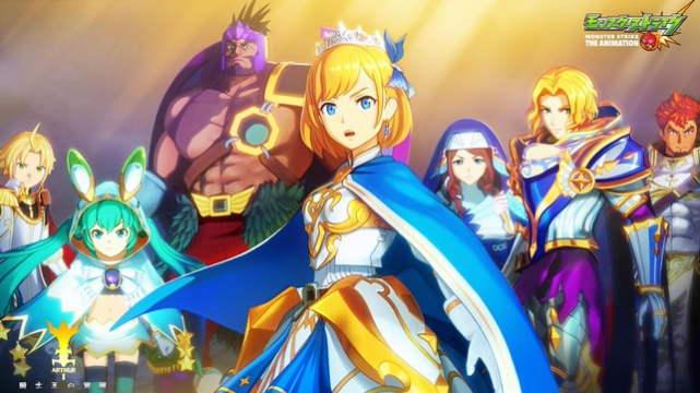 Anime Monster Strike Net Premier Pada Hari Sabtu