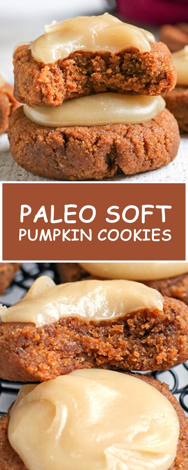PALEO SOFT PUMPKIN COOKIES