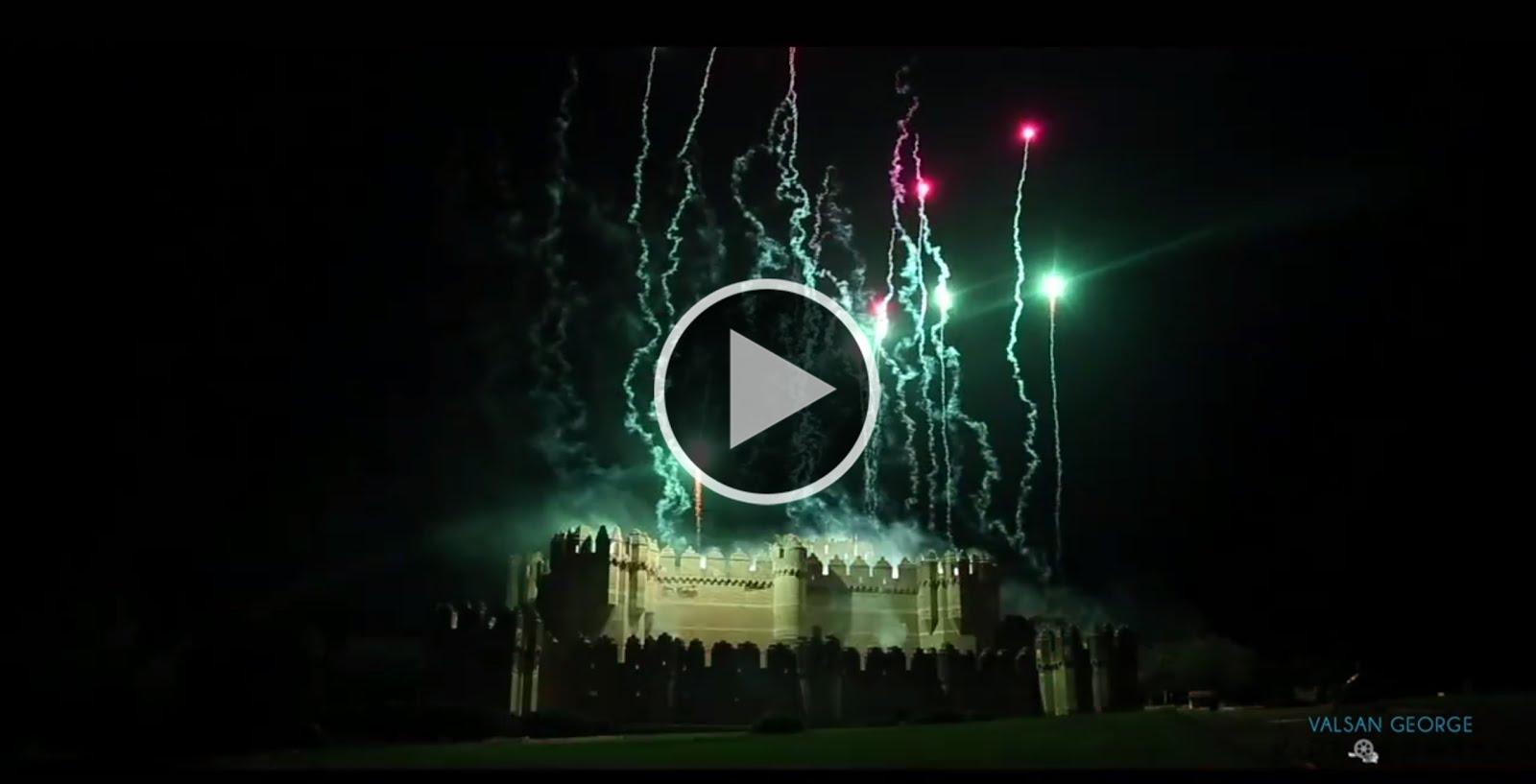 Fuegos de artificio, rayos y... ¡retruécanos!