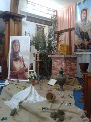 Resultado de imagen de monumento la samaritana en parroquia guadalupe. los realejos