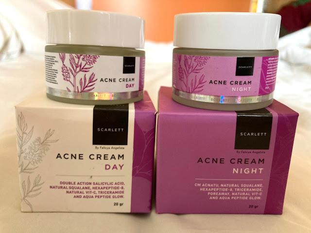 Scarlett Acne Cream Day and Night