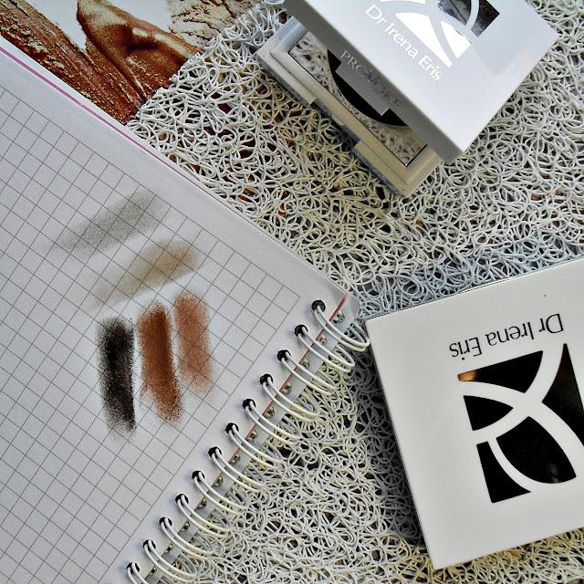 Klasyka w dobrym wydaniu i czekoladowy krem | DR IRENA ERIS | PROVOKE | TWIN EYESHADOW Irresistable Nude | POTRÓJNY CIEŃ NA POWIEKI NUDE TRIO EYESHADOW