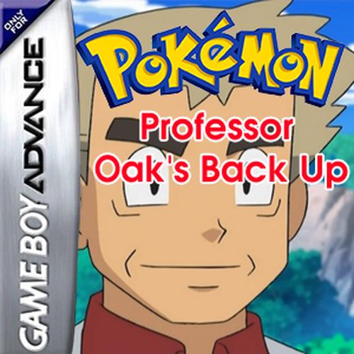 Pokemon Professor Oak's Back Up