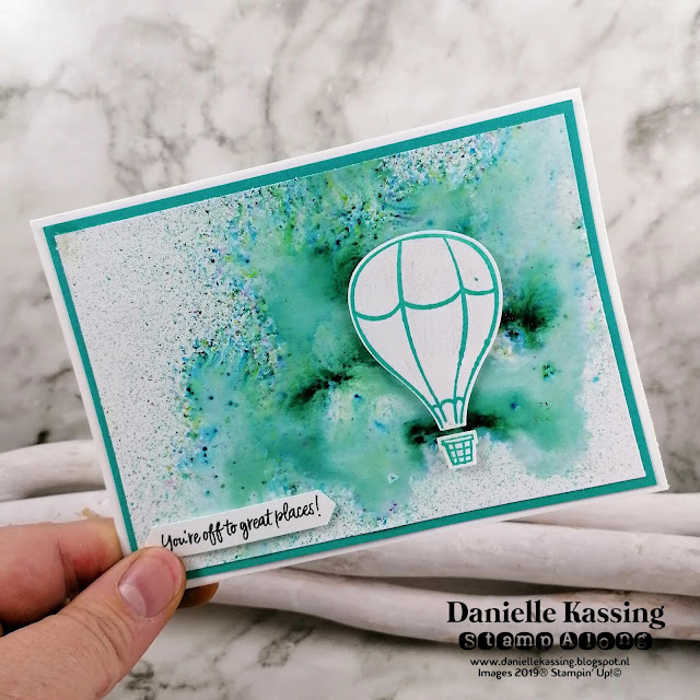 Stampin' Up! Pigment Sprinkles en Above the Clouds bundle