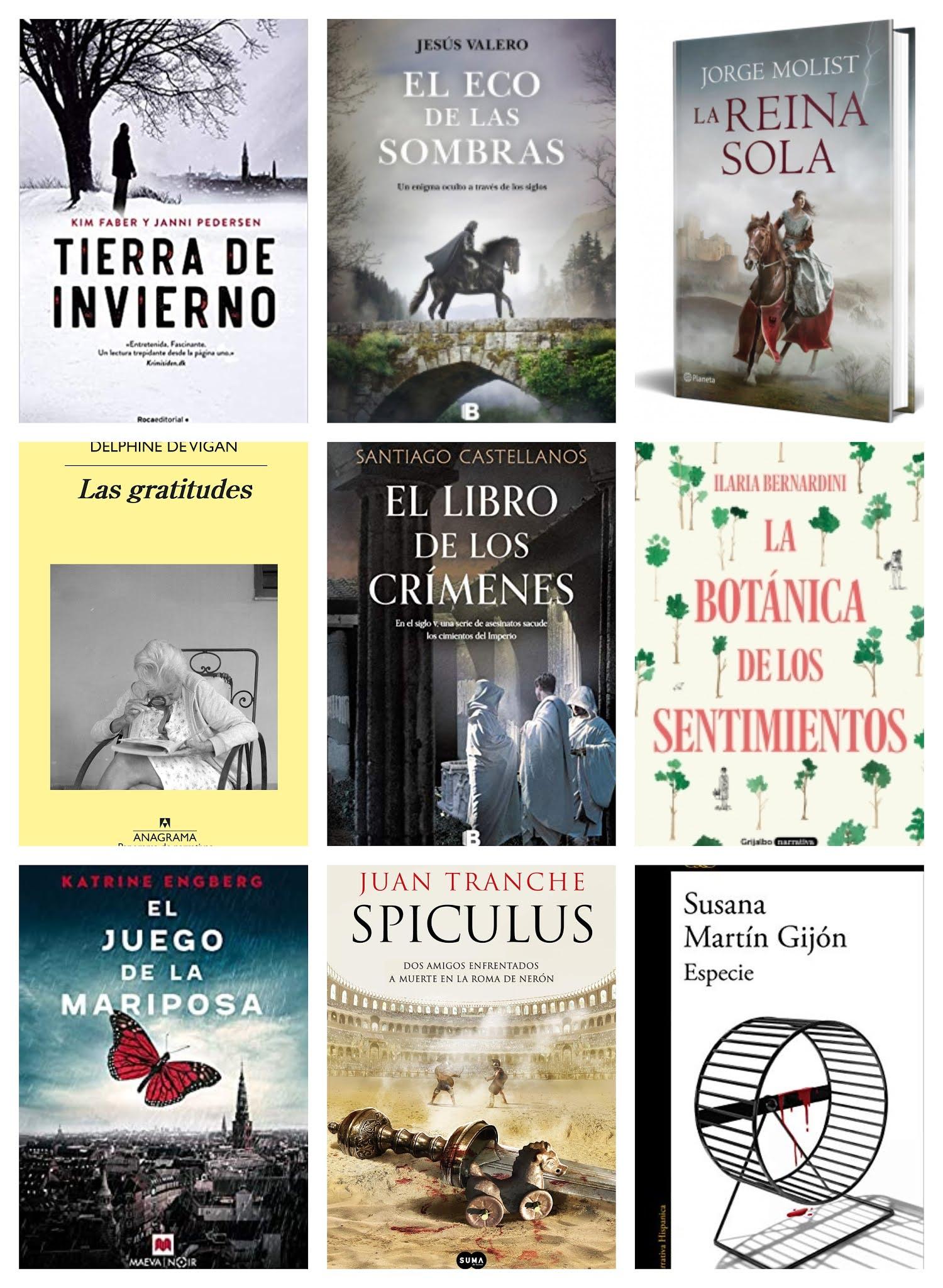 Novedades literarias febrero 2021