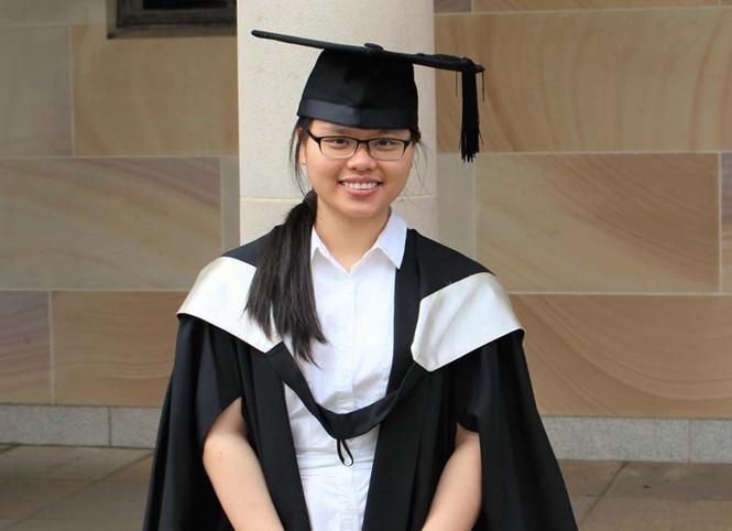 Mai Anh cô gái nhận học bổng tiến sĩ 10 trường tại Mỹ