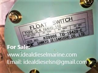 Sankyo Seisakusho S-K 16AHS-110 Float Switch SK16AHS110, S K 16AHS 110 sankyo