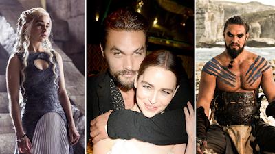 """Emilia Clarke señala que el miembro de Khal Drogo """"ERA FABULOSO"""""""