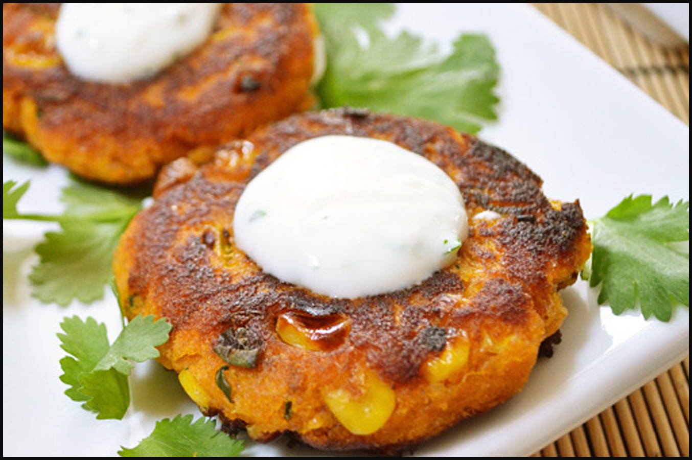 COOKING RECIPES FOR USA: Sweet Potato Corn Cakes with ...