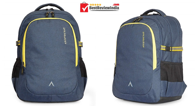 Aristocrat 34 Ltrs Blue Laptop Backpack