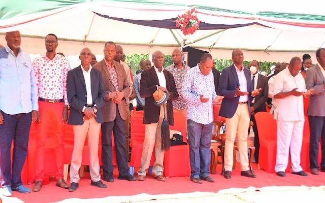 Deputy President William Ruto in Luhya land