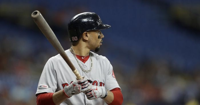 Mookie Betts has Played his Final Game in a Red Sox Uniform