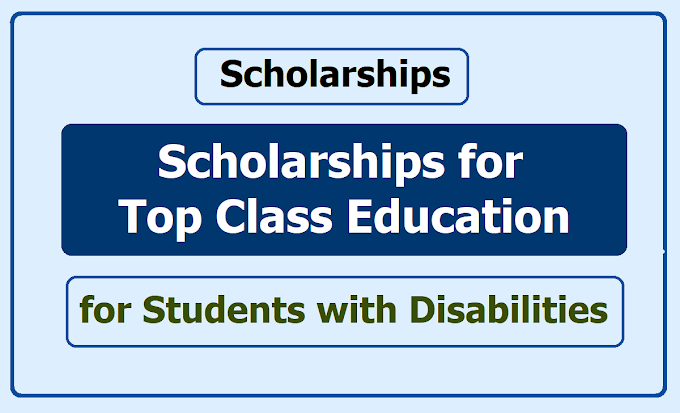 Top Class Education for Students with Disabilities