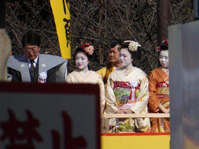 大阪・成田山不動尊の節分祭 芸妓・舞妓さん