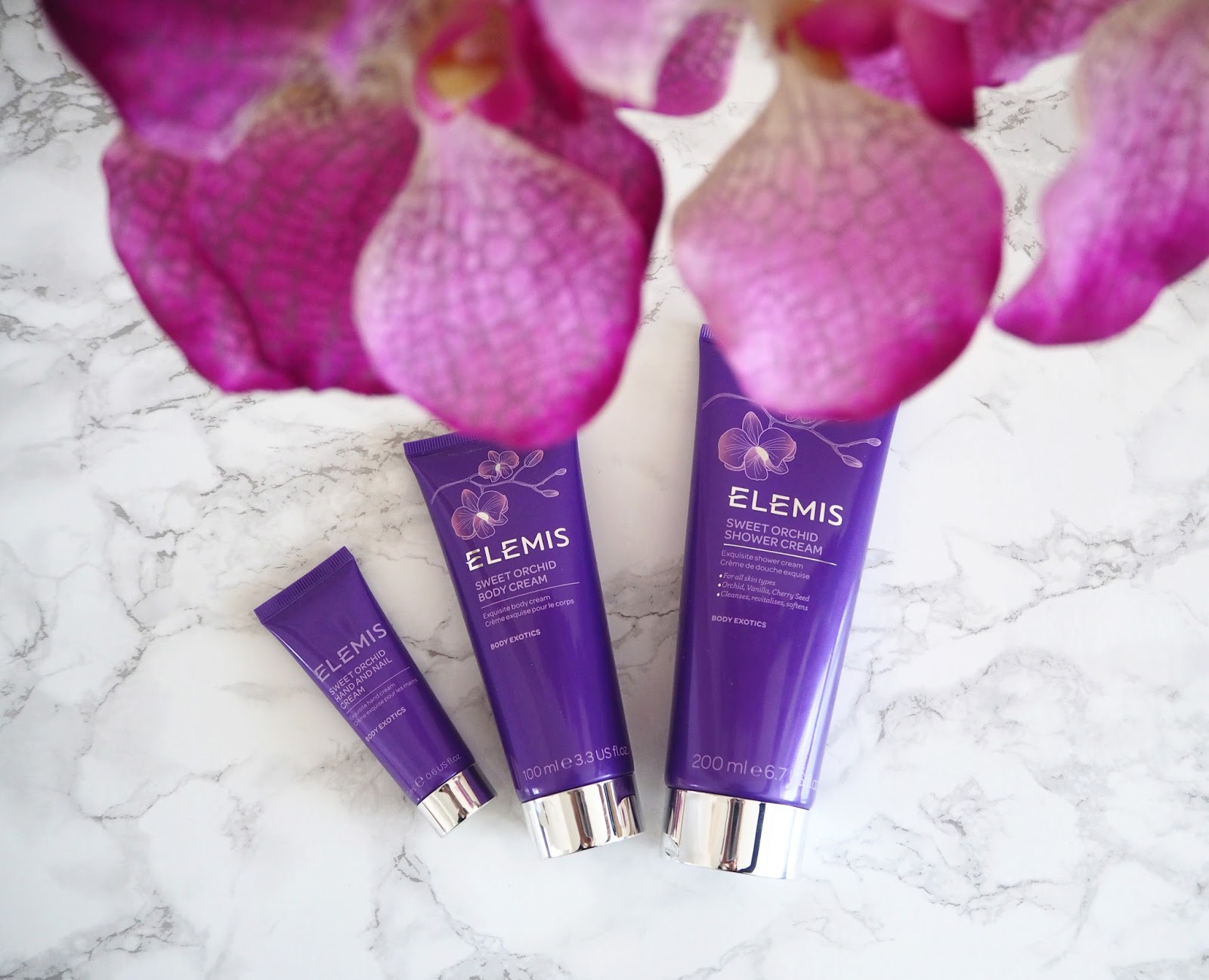 Elemis Sweet Orchid Collection