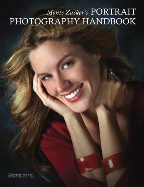 Portada libro: Libro de mano de fotografia de retrato
