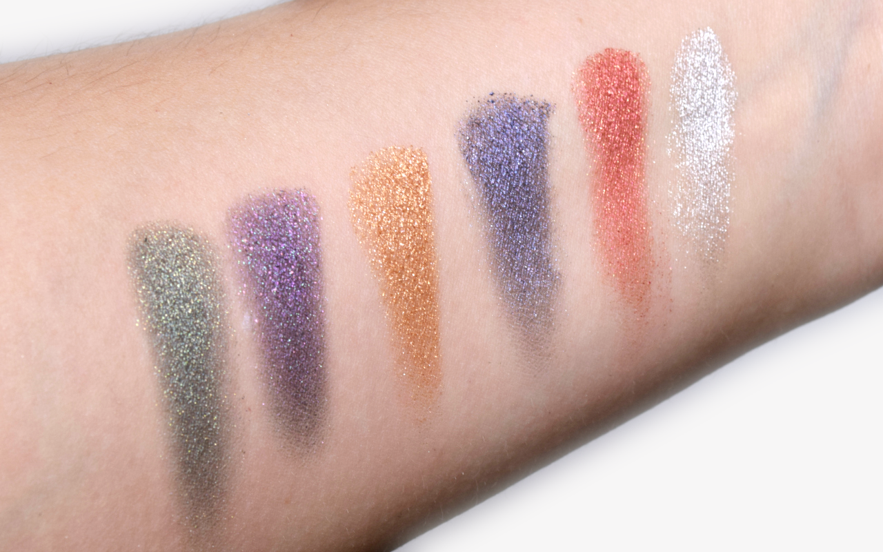 Sleek MakeUP Rockstars Collection Review i-Lust Eyeshadow Palette Hidden Gems Swatches